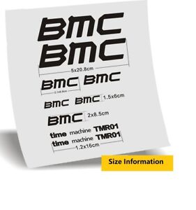 Frame Sticker Set for BMC  Road Bike Bicycle Cycling Decals