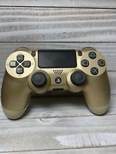 Official Sony OEM PS4 Dualshock 4 Wireless Controller Gold Edition CUH-ZCT2U