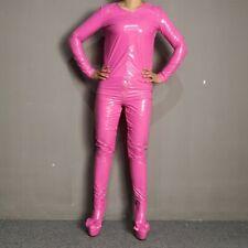 Women Coat Pants Boot Thigh Straitjacket Jumpsuits Platform Heel Shoes Nightclub
