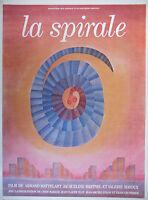AFFICHE PUBLICITAIRE - LA SPIRALE FILM DE A.MATTELART MEPPIEL- Jean-Michel FOLON