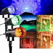 LED Projector Light Outdoor Laser Spotlight For Party Halloween Holiday iv