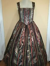 New listing Renaissance Outfit- Bodice and sewn-in stomacher with matching skirt (L/Xl)