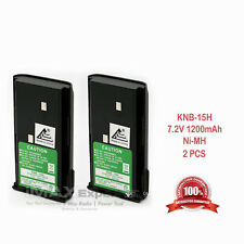 2 x KNB-14A KNB-15A Battery for KENWOOD TK-2100 TK-3100 TK-2101 TK-3101 TK-2107