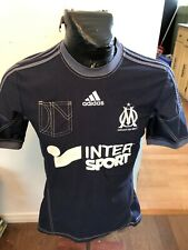 Mens Small Adidas Soccer Football Futbol Jersey Olympique de Marseille W Pocket