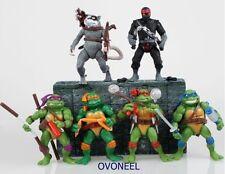 TMNT Teenage Mutant Ninja Turtles Figure Action  Collection Toy Set 6pcs New