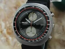 Seiko UFO Mens Japan Vintage 1970 Stainless St 44mm Chronograph Auto Watch GG42
