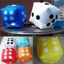 Novelty Giant Inflatable Number Dice Outdoor Beach Toy Party Garden Game 30cm