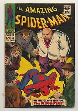 Amazing Spider-Man #51 (1967) VG- (3.5) ~ Kingpin ~ Stan Lee ~ John Romita
