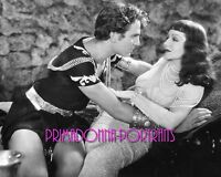 "CLAUDETTE COLBERT 8X10 Lab Photo B&W Portrait 1934 ""CLEOPATRA"" Sexy Movie Still"
