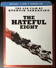 The Hateful Eight Blu-ray Steelbook Best Buy Exclusive Free Shipping