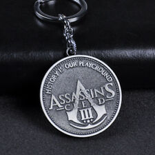 Assassin's Creed Metal Keychain Pendant Key Rings Unisex Collectible Key Chains
