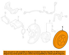 Chevrolet GM OEM 2015 Trax Front Brake-Disc Rotor 23118342