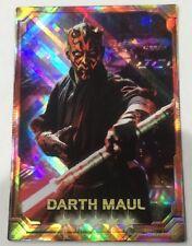Darth Maul STAR WARS Force Collection Promo Card Holo / Shiny Japanese