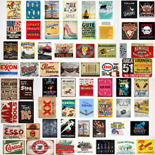 Vintage Metal Tin Sign Garage Retro Poster Customization Cafe Bar Pub Wall Decor