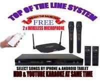 Singtronic KTV-9000UHD Professional HD W/ 40,000 Songs Built In Wifi & Youtube
