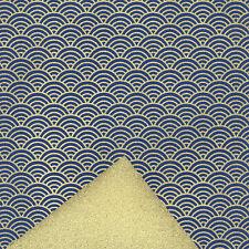 (wb77) DUAL-SIDED Color Yuzen washi paper 22x31 cm.