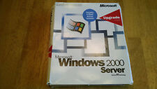 MICROSOFT WINDOWS 2000 SERVER UPGRADE WITH 5 CALS AND COA'S