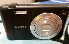 Sony Cyber-shot DSC-W800 20.1MP  5x Optical Zoom - Black [NEW IN OPEN BOX]