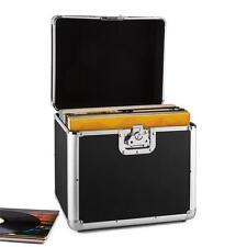 Dj Plattenkoffer Schallplatten Transport Box Vinyl Case Flightcase 70 LPs Alu