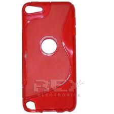 Carcasa Silicona roja para  iPod Touch 5 Gel TPU  ¡ESPAÑA!  i112