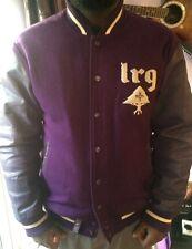 LRG Mens Varsity/college/bomber/baseball Jacket XL Purple