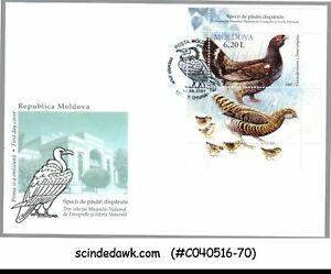 MOLDOVA - 2007 DISAPPEARED BIRD SPECIES - MIN/SHT - FDC