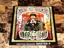 Silkk The Shocker Rare Hand Signed 12x12 Promo Poster Flat Made Man No Limit Rap