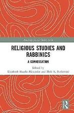 Religious Studies and Rabbinics: A Conversation (Routledge Jewish Studies Series