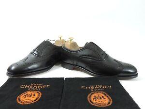 New Church's Cheaney Mens Shoes Arthur III Black Brogues UK 11 US 12 EU 45 F