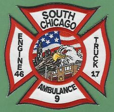 CHICAGO FIRE DEPARTMENT ENGINE 46 TRUCK 17 COMPANY PATCH