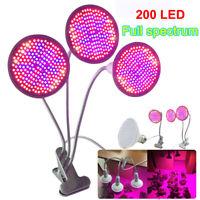 200 LED Plant Grow Light Lamp Blub Full Spectrum E27 Hydroponic Garden Indoor