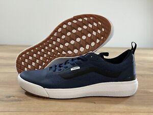 Vans UltraRange EXO Skate Shoes Dress Blues/True White MN SZ 9 ( VN0A4U1K2WC )