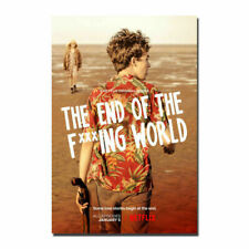 20A169 The End of The Fucking World TV Series Art Poster Silk Deco 12x18 24x36