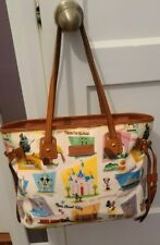 "New ListingRetro Disney Parks Dooney And Bourke Large Disneyland Handbag ""Vguc"""