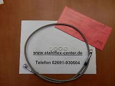 STAHLFLEX 106cm Einzelleitung mit TÜV Bremsleitung Bremse 106 cm NEU  C227