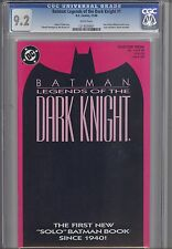 Legends of the Dark Knight 1 CGC 9.2 1989 DC Batman  Comic: Red Scarlet Cover