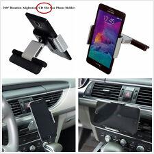 """Universal Car CD Slot Phone GPS Sat Nav Mount Stand Holder For 3.5-5.5"""" Phones"""
