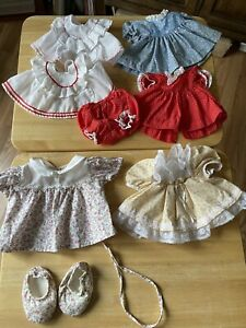 Vintage lot of My Child Doll CLOTHES Dresses Outfit Mattel