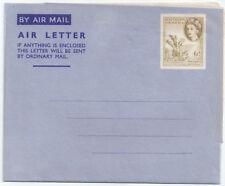 Southern Rhodesia QEII Air Mail Pre paid 6d wm Inverted