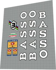 BASSO Gap 1990 Sticker / Decal Set