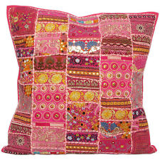 "20x20"" Large Pink Gypsy Decorative Throw Pillow Sofa Cushion Covers"