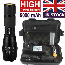 20000lm Police Tactical Flashlight CREE XML L2 LED Military Torch Gift Kits SetS