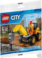 LEGO CITY Bau 30312 Demolition Driller Neu 2015 Polybeutel