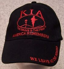 Embroidered Baseball Cap Military KIA Killed in Action NEW 1 hat size fits all