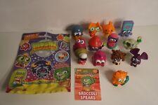 Moshi Monsters Figures Blind Bags Series 3 Lot of 13 Moshlings + Code Card