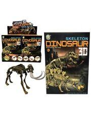 Bulk Wholesale Job Lot 20 Dinosaur Skeleton Construction Kits Toys