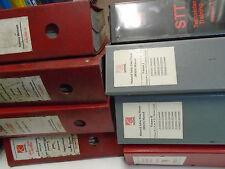 2000 2001 Saturn L Series Service Shop Manual Used Wear 8 Volume INCOMPLETE Set