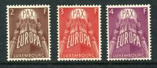 LUXEMBOURG 1957 EUROPA CEPT MNH Set 3 Stamps