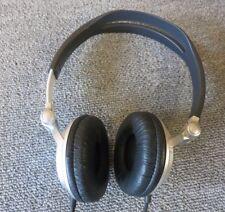 Sony MDR-V300 Metallic Silver Neodymium Magnet Headband Headset With Mic
