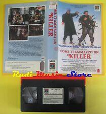 film VHS COME TI AMMAZZO UN KILLER 1988 walter matthau robin williams(F58)no dvd